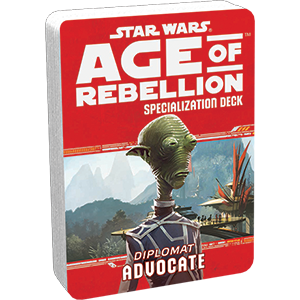 Star Wars Age of Rebellion Advocate Specialization Deck