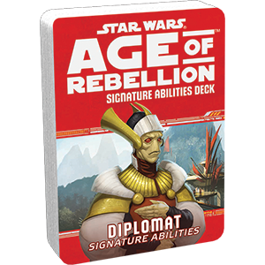 Star Wars Age of Rebellion Diplomat Signature Abilities Deck