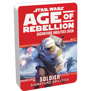 Star Wars Age of Rebellion Soldier Signature Abilities Deck