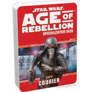 Star Wars Age of Rebellion Courier Specialization Deck