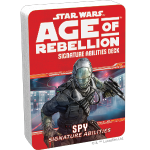 Star Wars Age of Rebellion Spy Signature Abilities Deck