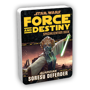 Star Wars Force and Destiny Soresu Defender Specialization Deck