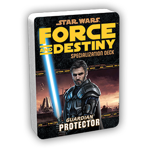 Star Wars Force and Destiny Protector Specialization Deck