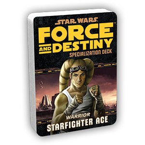 Star Wars Force and Destiny Starfighter Ace Specialization Deck