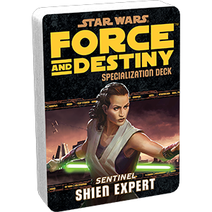 Star Wars Force and Destiny Shien Expert Specialization Deck