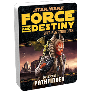Star Wars Force and Destiny Pathfinder Specialization Deck