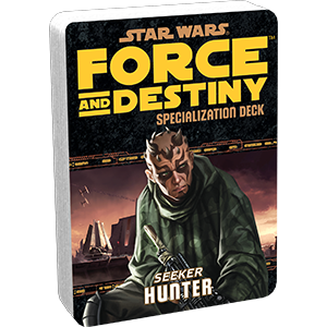 Star Wars Force and Destiny Hunter Specialization Deck