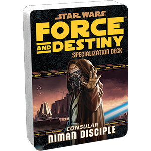 Star Wars Force and Destiny Niman Disciple Specialization Deck