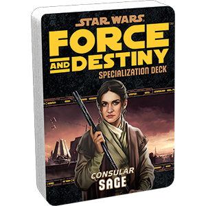 Star Wars Force and Destiny Sage Specialization Deck