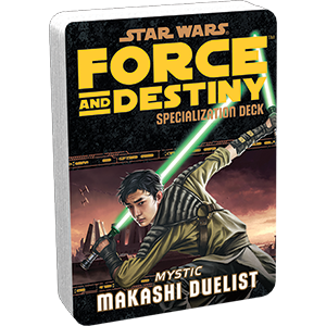 Star Wars Force and Destiny Makashi Duelist Specialization Deck