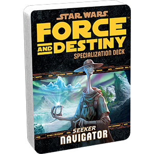 Star Wars Force and Destiny Navigator Specialization Deck