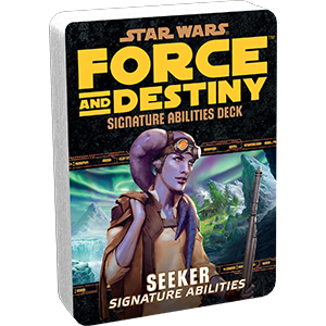 Star Wars Force and Destiny Seeker Signature Abilities Deck