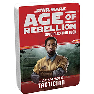 Star Wars Age of Rebellion Tactician Specialization Deck