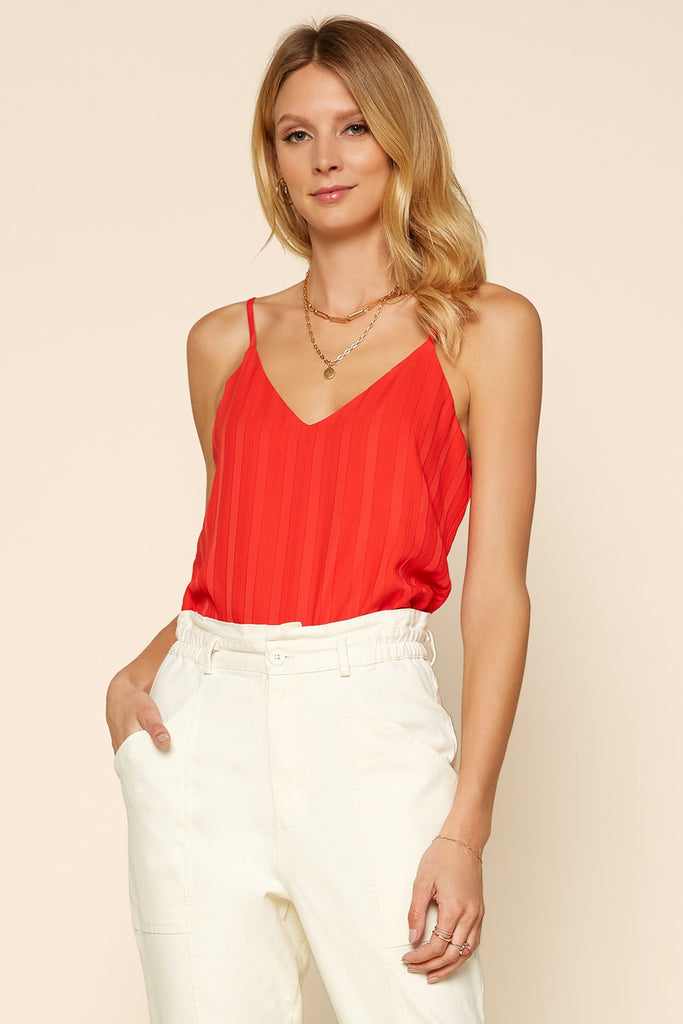 Textured Cami Top