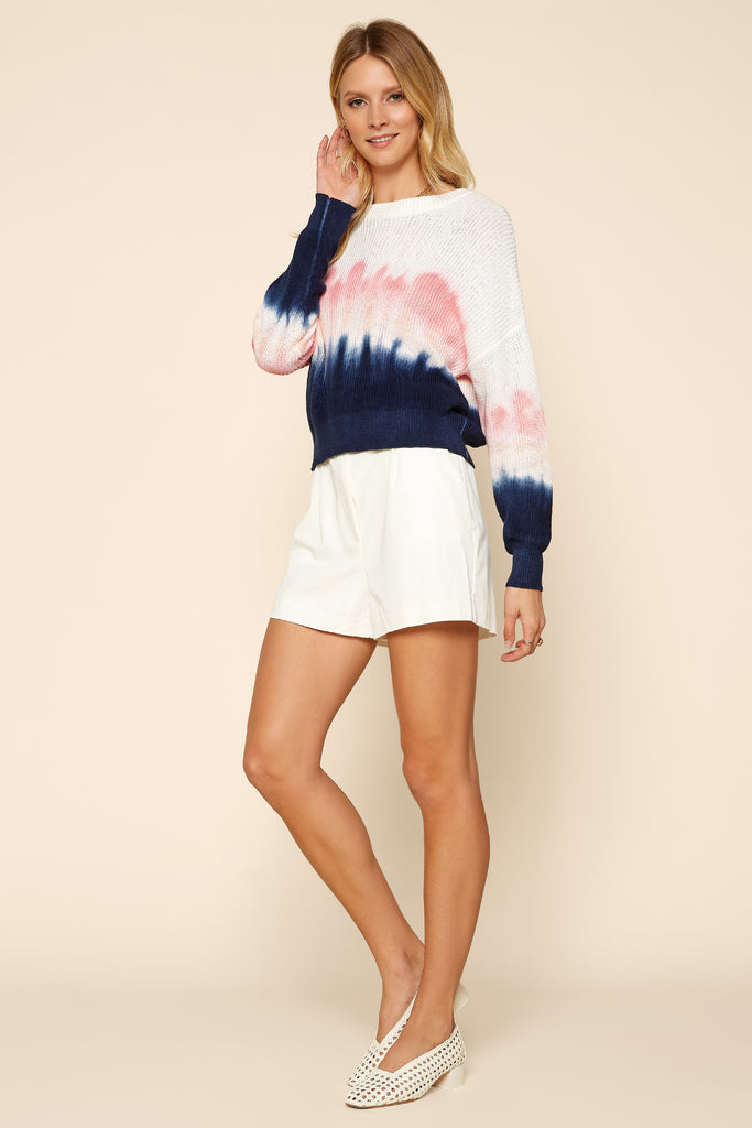 WATER COLOR Tie Dye Sweater