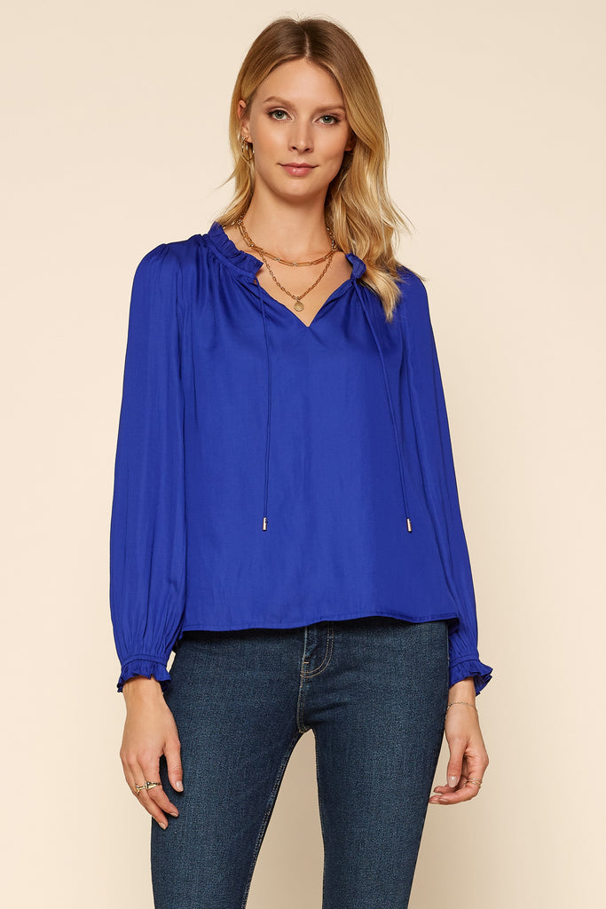 Sophia Ruffled Blouse