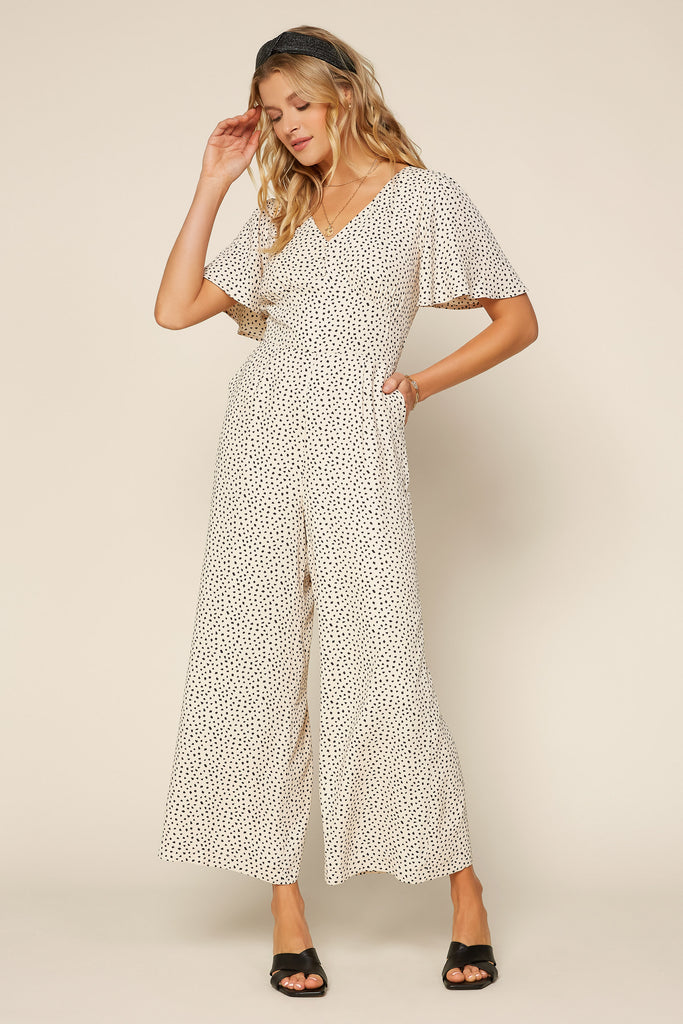 Sweet Polka Dot Jumpsuit