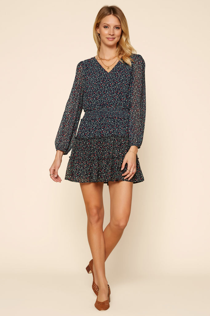 Ditsy Floral Mini Dress