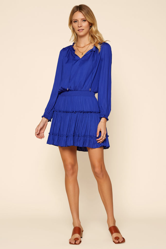 Sophia Ruffled Mini Dress