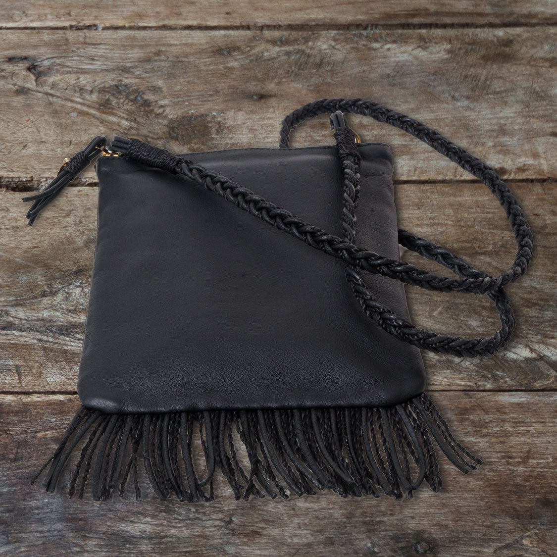 Fringed Envelope Bag