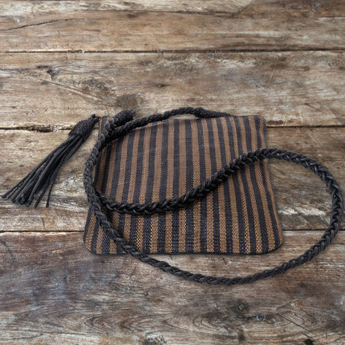 LK Signature Stripe Envelope Bag