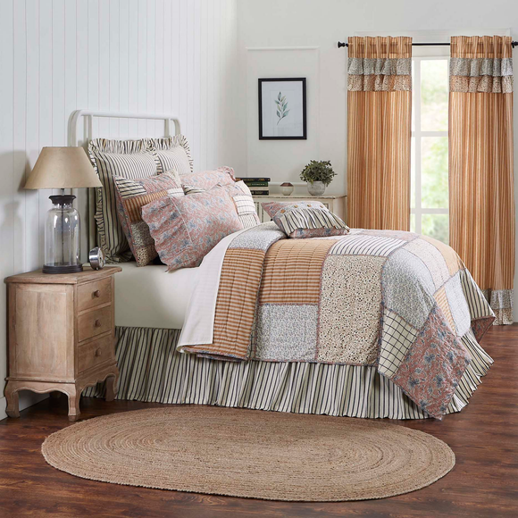 Patchwork Bedding Sets Shams & Skirts