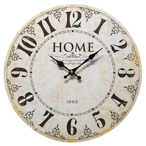 Antique Style 1889 Wall Clock - Jam-Discount Home Decor