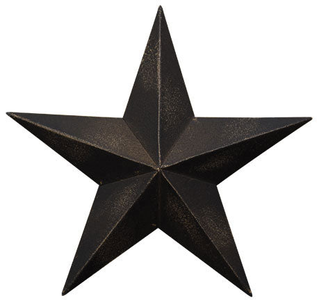Jam Discount Home Decor Antique Black Barn Star 24