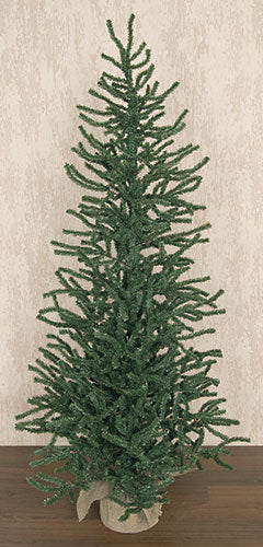 Holiday Short Needle Pine Tree w/Burlap Base 5 ft - Jam-Discount Home Decor