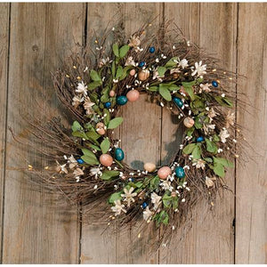 Country Easter Garlands Wreaths Floral Rings - Jam-Discount Home Decor