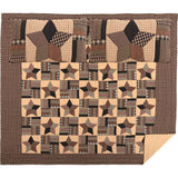 Bingham Star Primitive Country Style Quilt & Sham Sets - Jam-Discount Home Decor