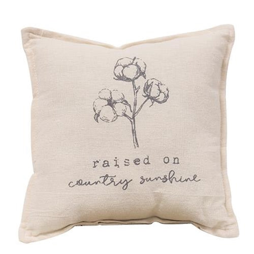 Raised On Country Sunshine Accent Pillow - Jam-Discount Home Decor