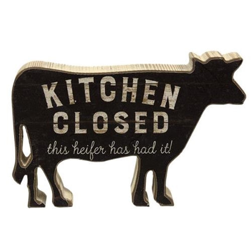 Kitchen Closed This Heifer Has Had It - Jam-Discount Home Decor