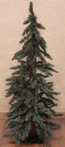 Downswept Alpine Rustic Christmas Tree 6ft 7ft - Jam-Discount Home Decor