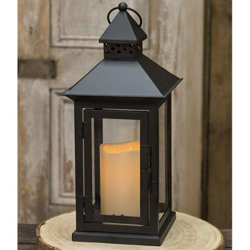 LED Flameless Timer Lantern - Jam-Discount Home Decor