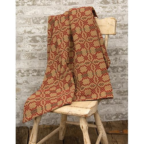 Patriot's Knot Throw Holiday Tables