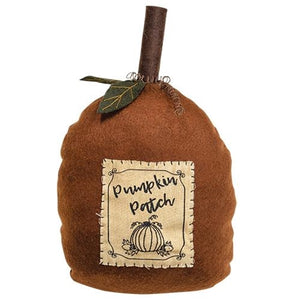 Pumpkin Shape Pumpkin Patch Pillow Weighted Bottom