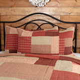 Rory Schoolhouse Red Quilts Shams Vhc Brands - Jam-Discount Home Decor