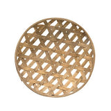 Rustic Round Natural Wood Weave Basket - Jam-Discount Home Decor