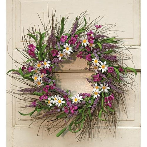 Spring Flower & Phlox Door Wreath, 24