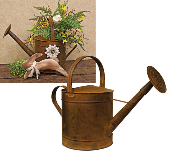 Metal Rusty Watering Can Long Shower Spout - Jam-Discount Home Decor