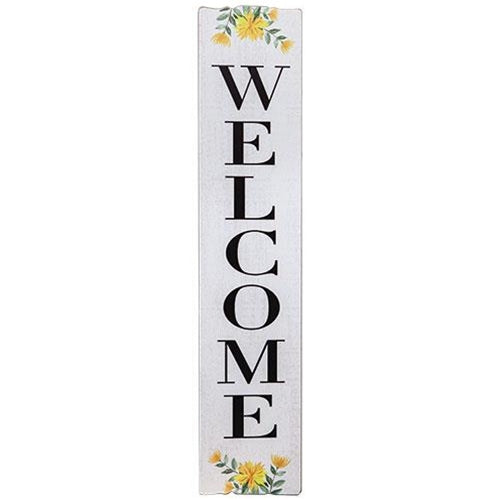 Spring Florals Welcome Country Porch Sign - Jam-Discount Home Decor