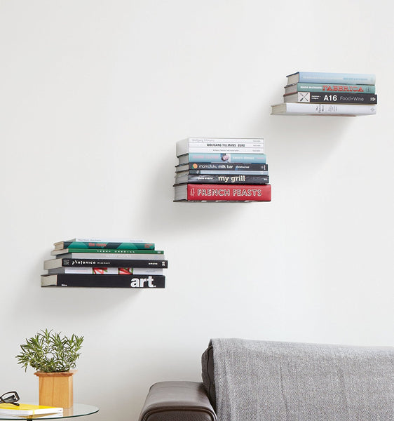 Umbra Conceal Floating Bookshelf [2 to 5 Day Free Delivery]