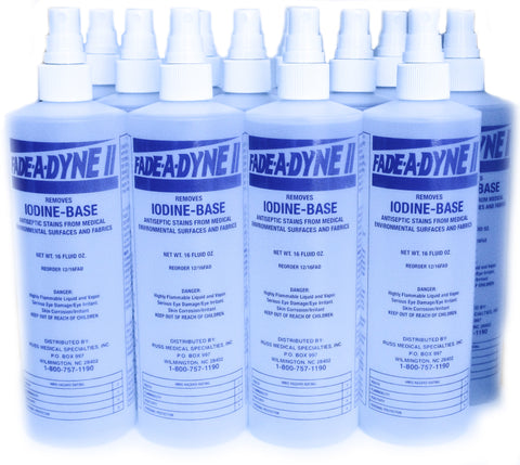 FADE-A-DYNE II  iodine stain removal