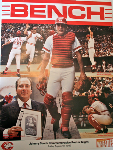 Johnny Bench Night Poster
