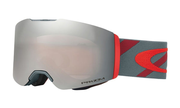 Oakley Fall Line Hazard Bar Slate Brick Goggles - Red