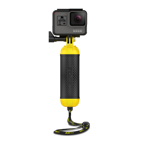 GoPole Bobber - Floating Hand Grip for GoPro cameras - TechSmartWear