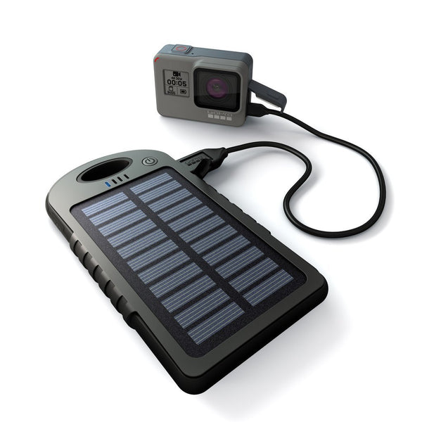 GoPole Dual Charge USB Powerbank with Solar Charger