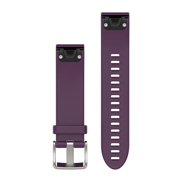 Garmin QuickFit 20 Watch Band - Amethyst Purple Silicone - TechSmartWear