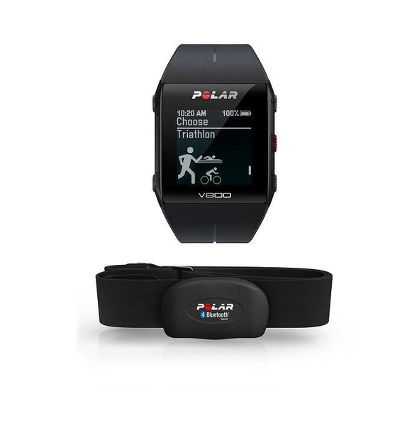 Polar V800 + Heart Rate Sensor - Black - TechSmartWear